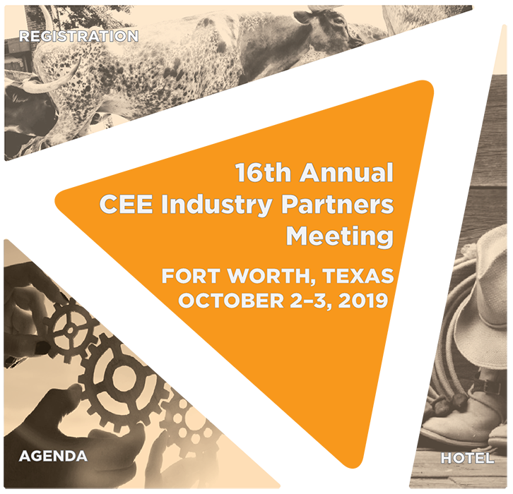 2019 CEE Industry Partners Meeting