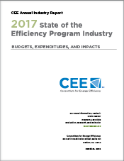 CEE 2016 Annual Industry Report, State of the Efficiency Program Industry