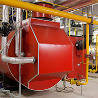 Hybrid boilers are most efficient and can safely be converted to geothermal.