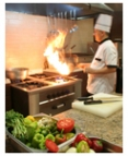 Commercial kitchens are energy intensive.