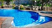 The entire swimming pool system can be optimized for efficiency.